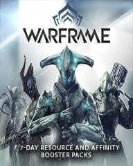 Warframe 7 Denní Resource a Affinity Booster Pack (PC)